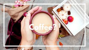 Coffee- Donation Button