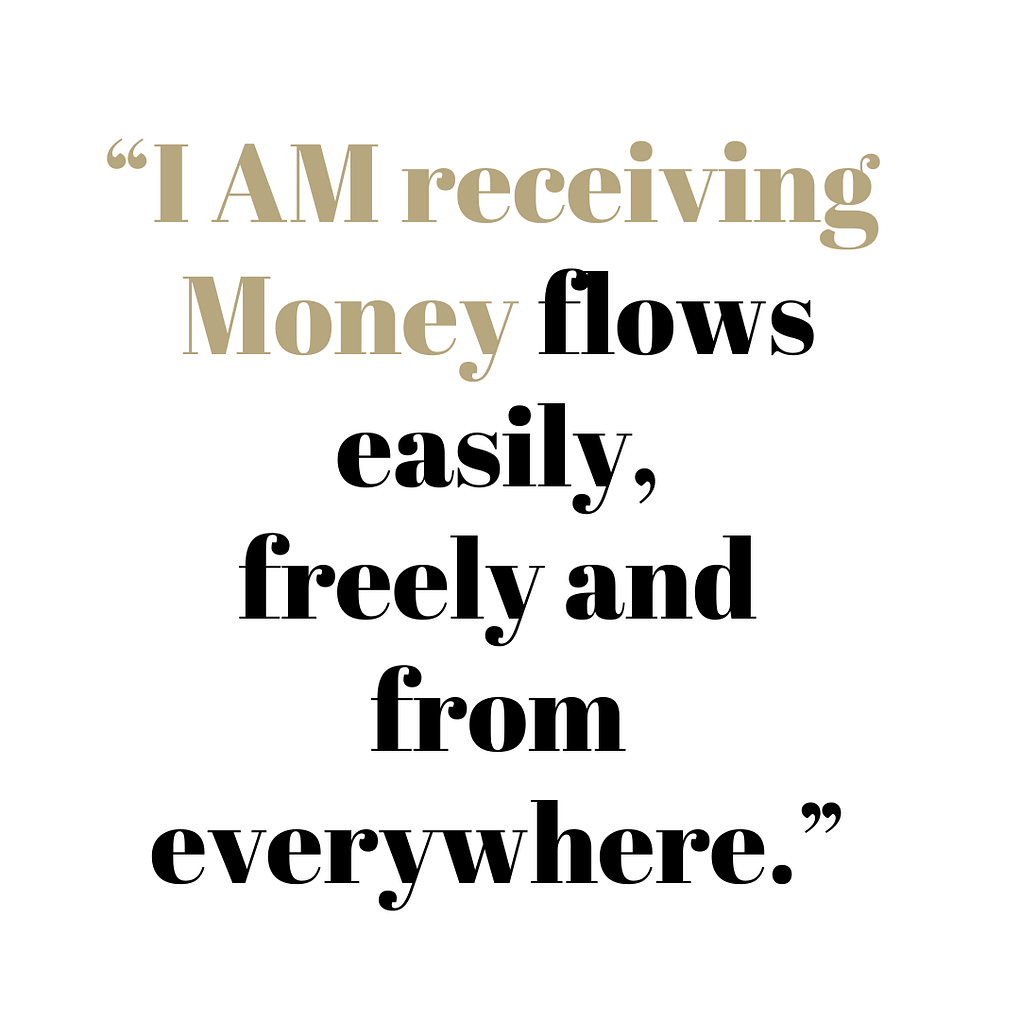 I am receiving Money flows easily
