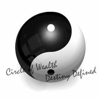 CircleofWealthDestinyDefined yin and Yang Logo