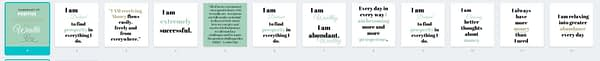 I am wealthy positive affirmations collection