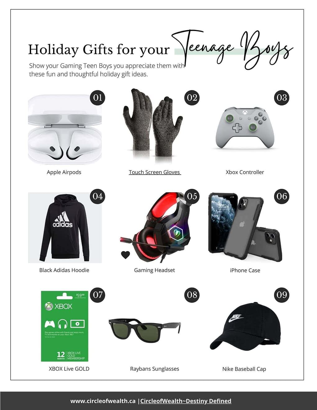 Best Holiday Gift Guide Teenage Boys guys gaming