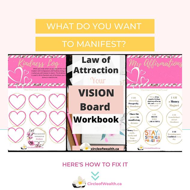 LOA CircleofWealth Vision Board Planner Kit (1)