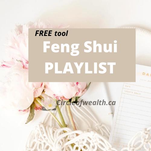 CircleofWealths FengShui Zen playlist on spotify