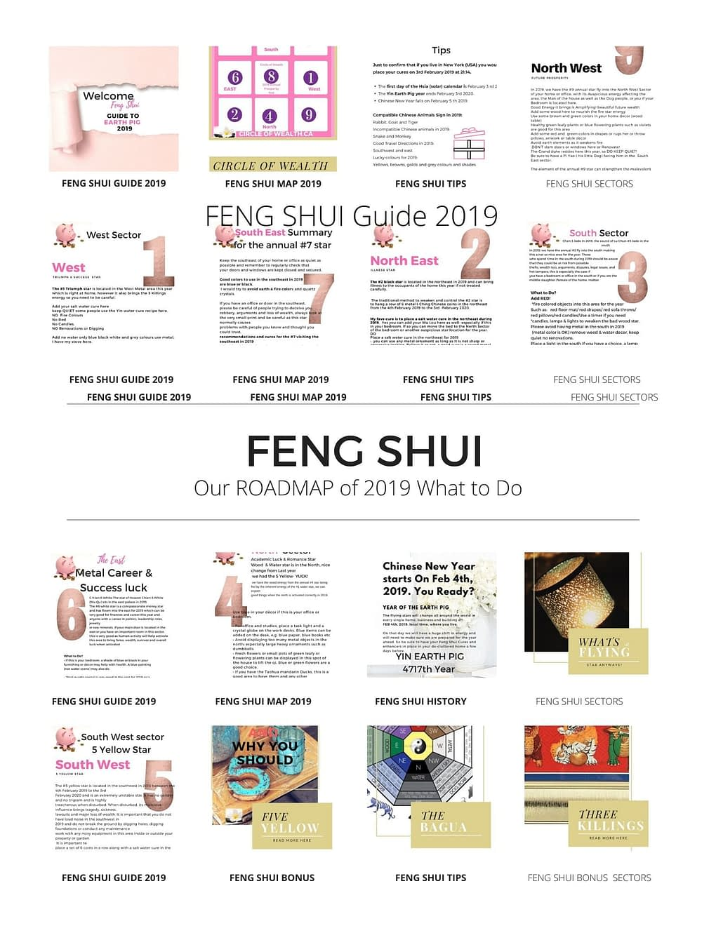 Feng Shui Guide from Circle of Wealth.ca