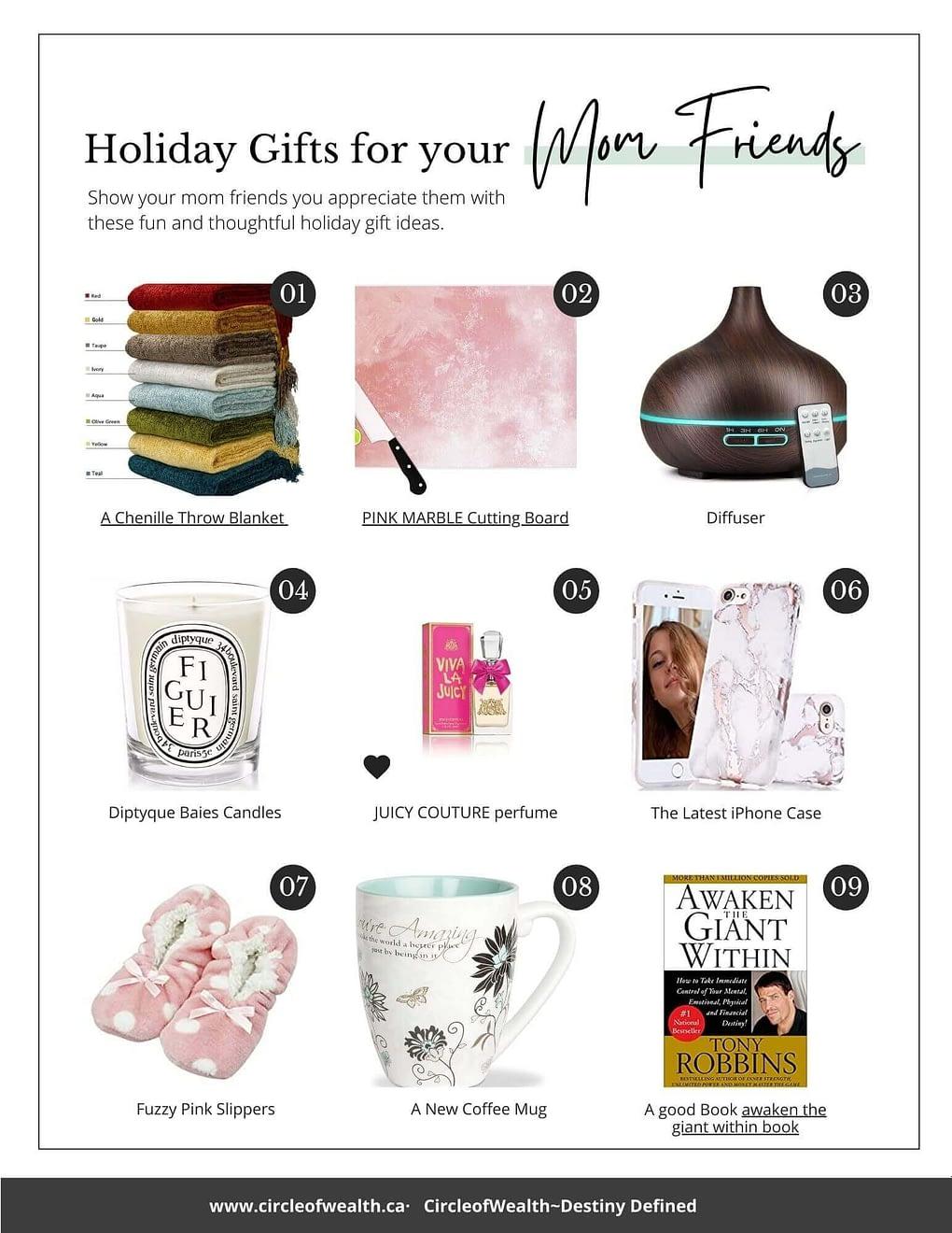 Holiday Gift Guide for Mom Bosses