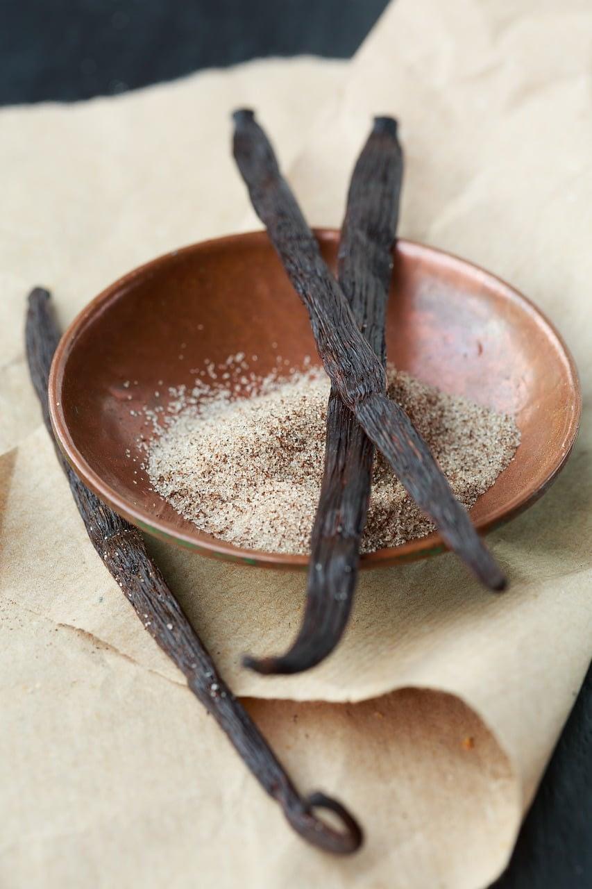 vanilla extract from pure vanilla bean