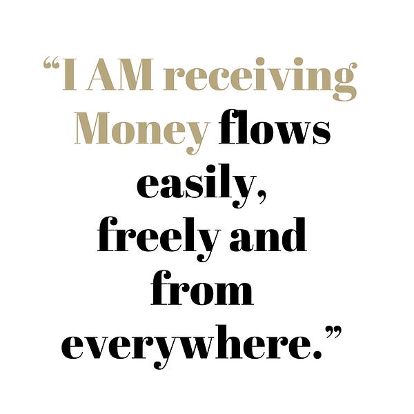 I am receiving Money flows easily