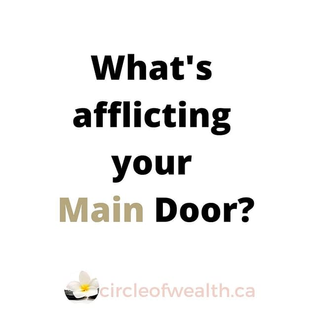 what's afflicting your main door?
