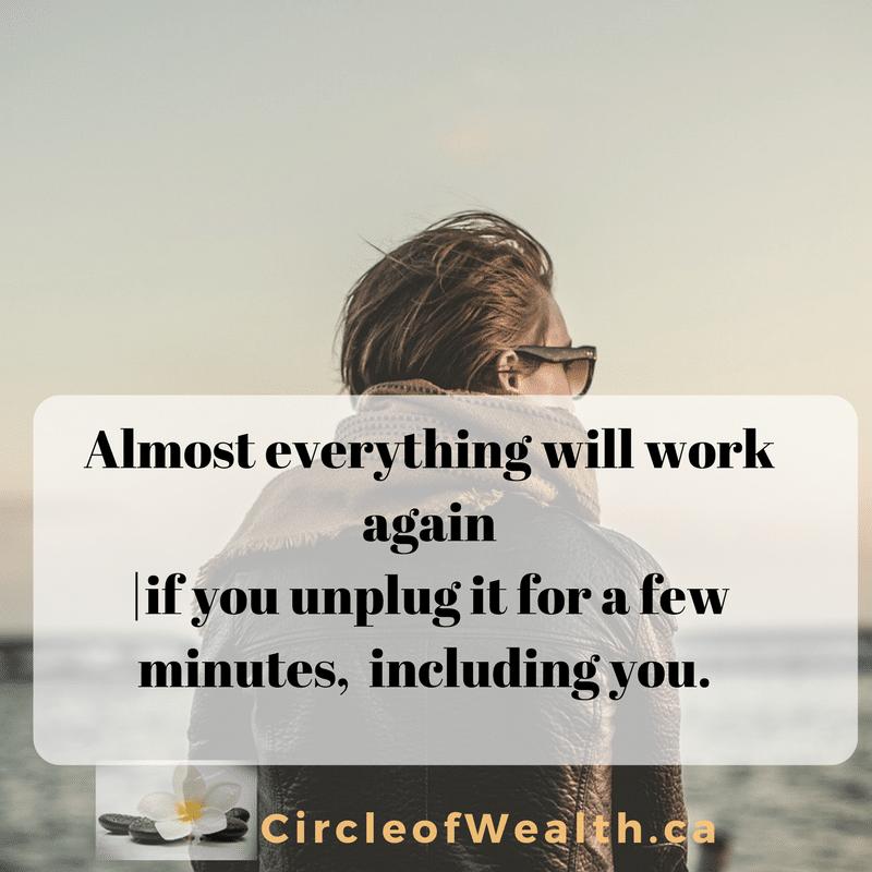 everything will work again unplug
