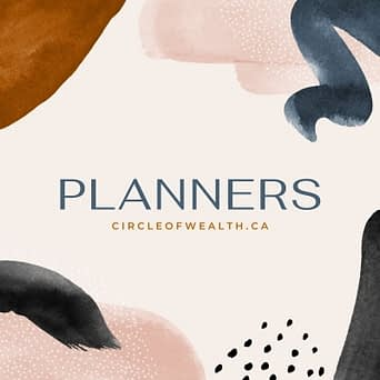 My Pretty Self Care planner Cover