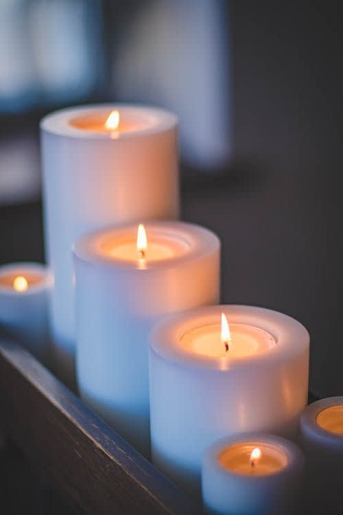 sexy romantic Candles
