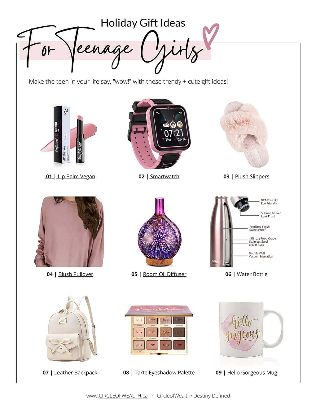 Gift Guide for Teenage Girls 2020