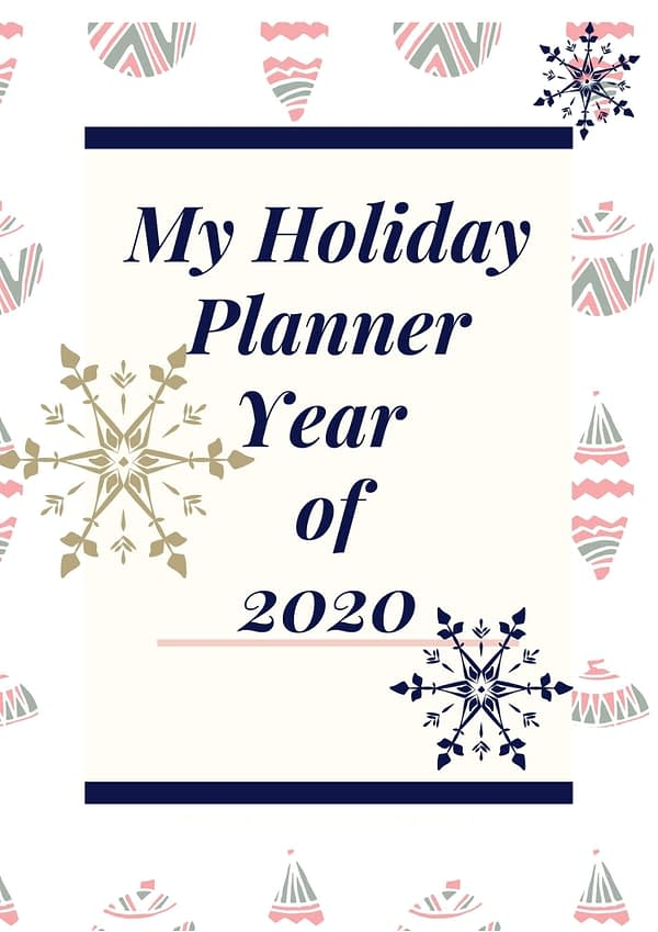 My Holiday Planner