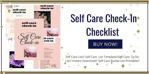 Self Care Check In Guide