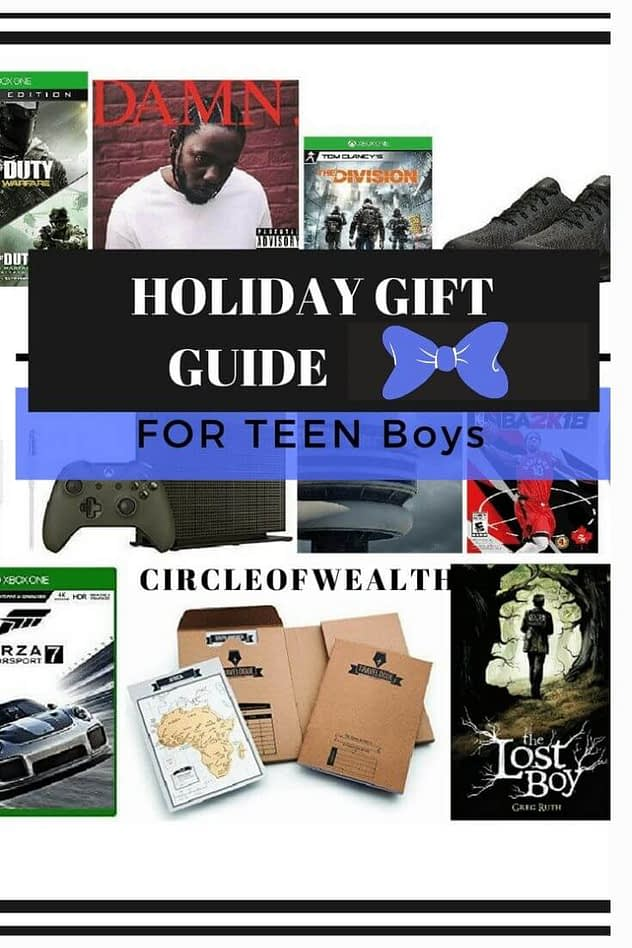 Holiday Gift Guides for Teen Boys