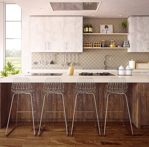 the sink and stove clash in the kitchen feng shui