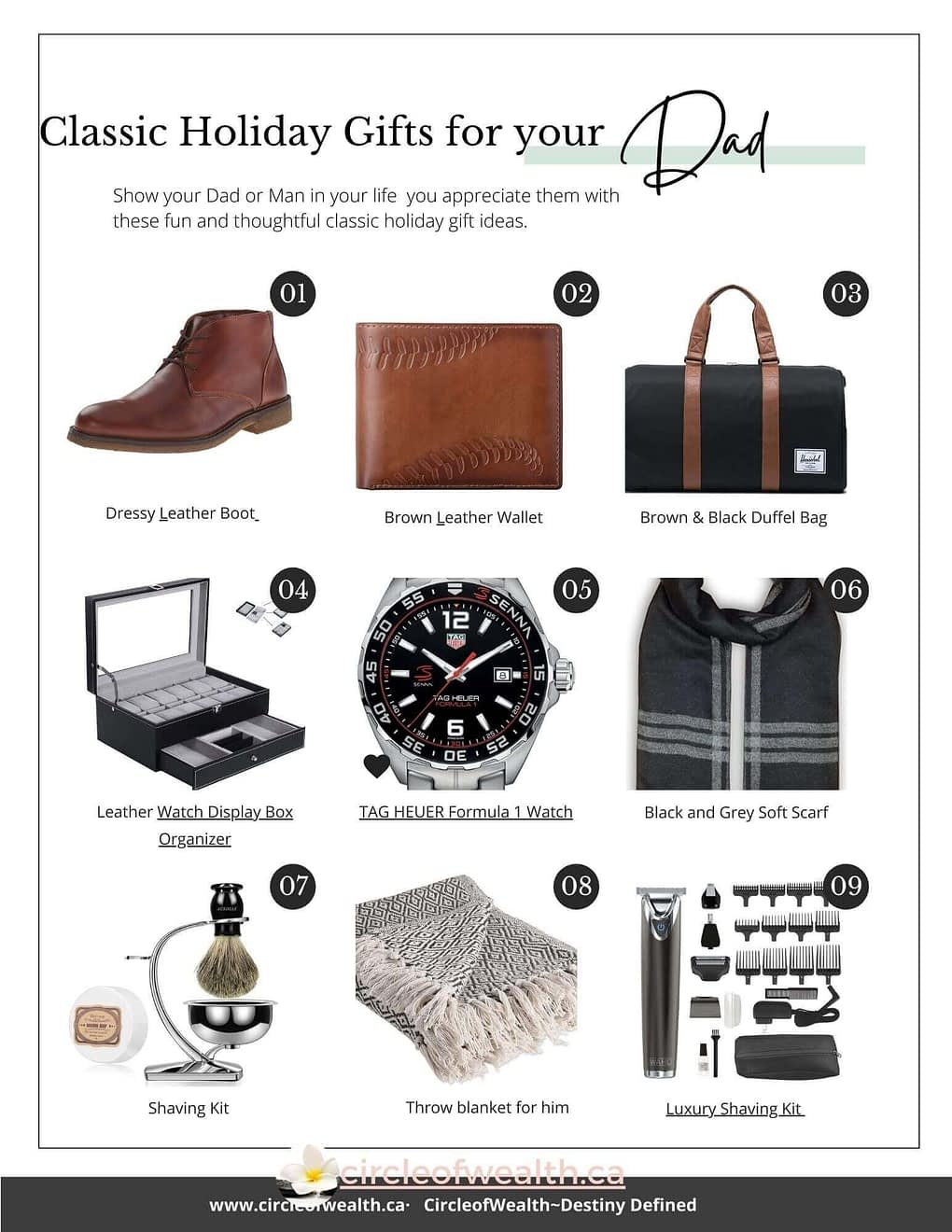Holiday Gift Guide for Dad and Other Guys