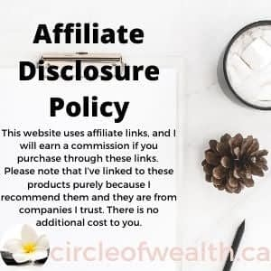 Affiliate Disclosure Policy This website uses affiliate links, and I will earn a commission if you purchase through these links. Please note that I've linked to these products purely